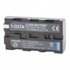Volta NP-F550 LI-Ion Battery