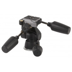 Magnesium 3-Way Low-Profile Pan/Tilt Head