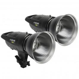 ASIS 400 Lite 2-Head Monolight Kit
