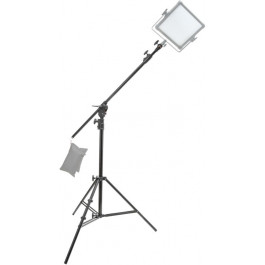 13.5' Light Stand with Convertible Boom Arm