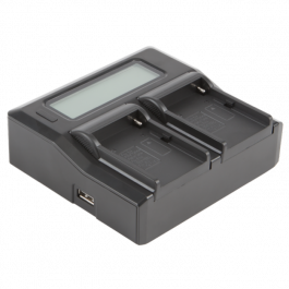 Volta NP-F Dual Battery Charger