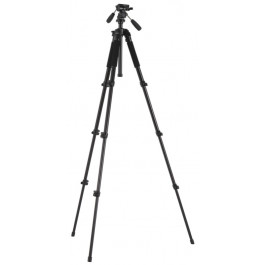 3-Way Head with Medium Photo Tripod Kit