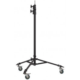 Double Riser Roller Stand with Baby Pin (Black)