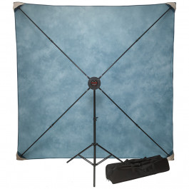 8' x 8'  PXB Pro Portable X-frame Background System