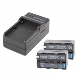 Volta NP-F770 Li-ion Battery Kit