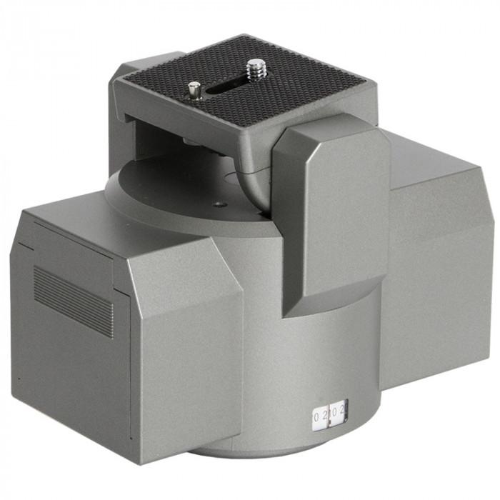 Motorized pan tilt head for megamast tripod accessories for Pan and tilt head motorized