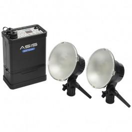 ASIS 400 Traveler 2-Head and Li-Ion Battery Pack Kit