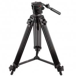Pro Video Fluid Head and Tripod Kit