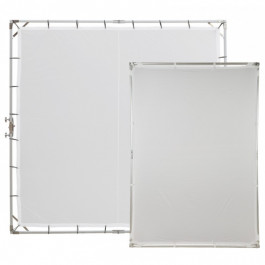 8 x 8' Butterfly Frame with 55 x 78' Folding Light Panel